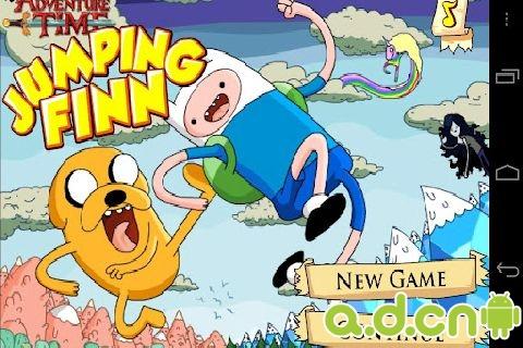 芬兰人跳跃 Adventure Time: Jumping Finn