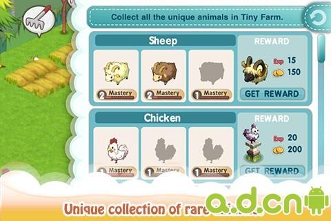 迷你農場 Tiny Farm v1.10.00-Android模拟经营類遊戲下載