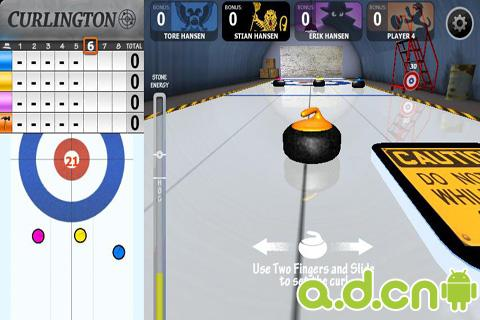 玩免費體育競技APP|下載冰壶球高清版 Curlington HD app不用錢|硬是要APP
