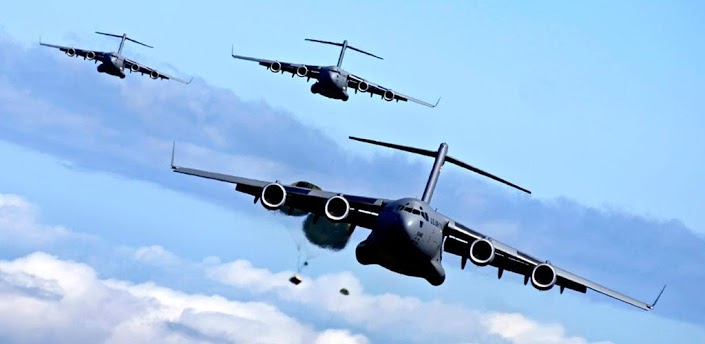 飞机降落操作步骤