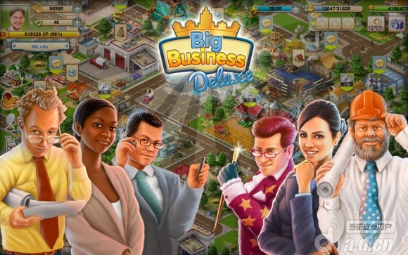 大企業 豪華版 Big Business Deluxe v1.7.1-Android模拟经营類遊戲下載
