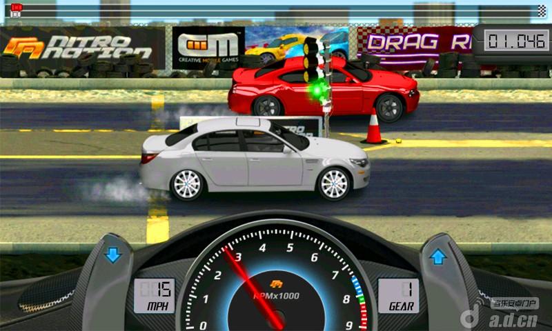 短程極速賽車2 DragRacing2 v1.6.2-Android竞速游戏類遊戲下載