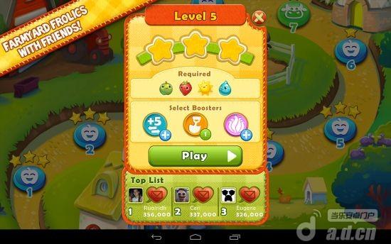 農場英雄傳奇 Farm Heroes Saga v2.0.22-Android益智休闲類遊戲下載