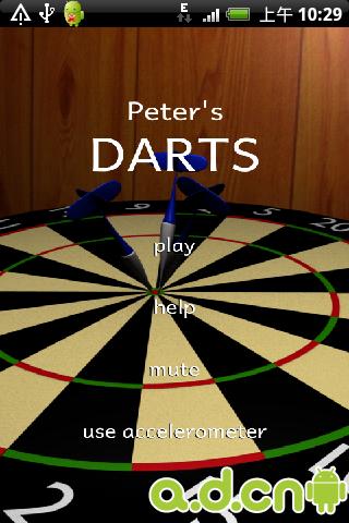 彼得的飞镖 Peter's Darts