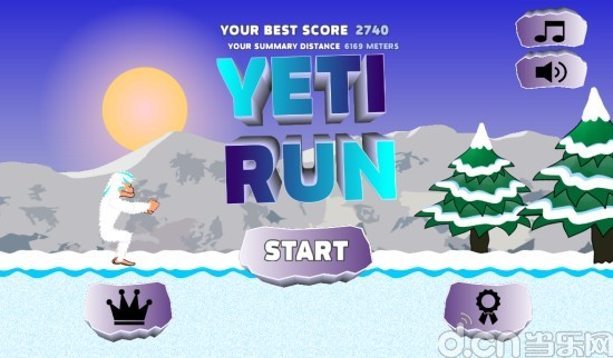 雪人狂奔 Yeti Run