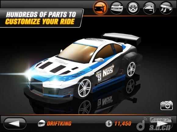 瘋狂漂移2 修改版(含數據包) Drift Mania Championship 2 v1.22-Android竞速游戏類遊戲下載
