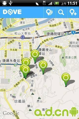 台湾旅游地图_截图