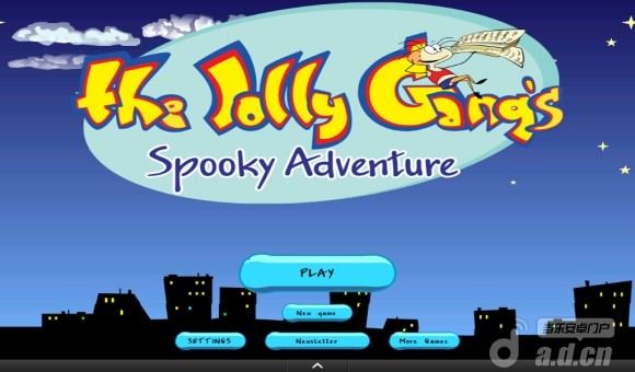 快乐伙伴的捉鬼冒险 The Jolly Gang's Spooky Adventure