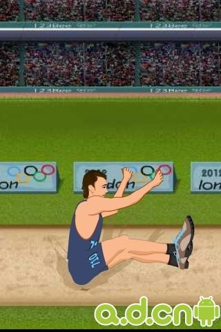 运动跳远 Sports Long Jump