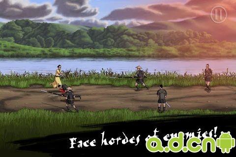 【免費動作App】武士冲吧 Samurai Rush-APP點子