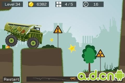 狂野重卡 Big Truck v1.60-Android益智休闲類遊戲下載