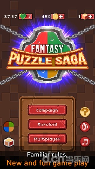 玩角色扮演App 忍者梦幻消除 Fantasy Puzzle Saga免費 APP試玩