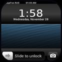 iPhone5锁屏_图标